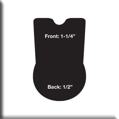 CASHEL Dressage Reverse Wedge Cushion Pad