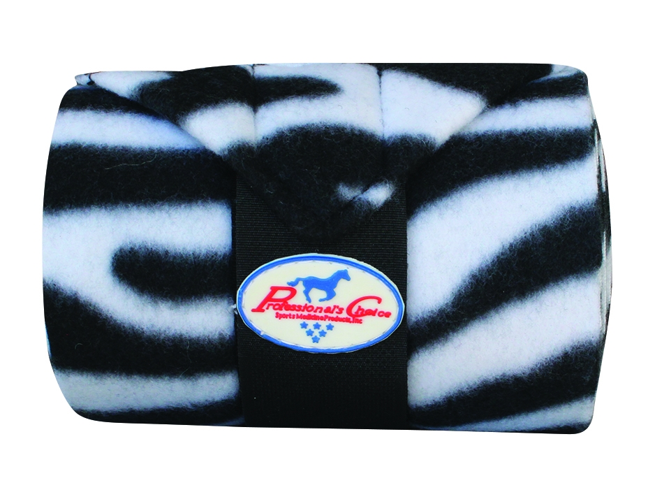 Professionals Choice Polo Wrap - Zebra