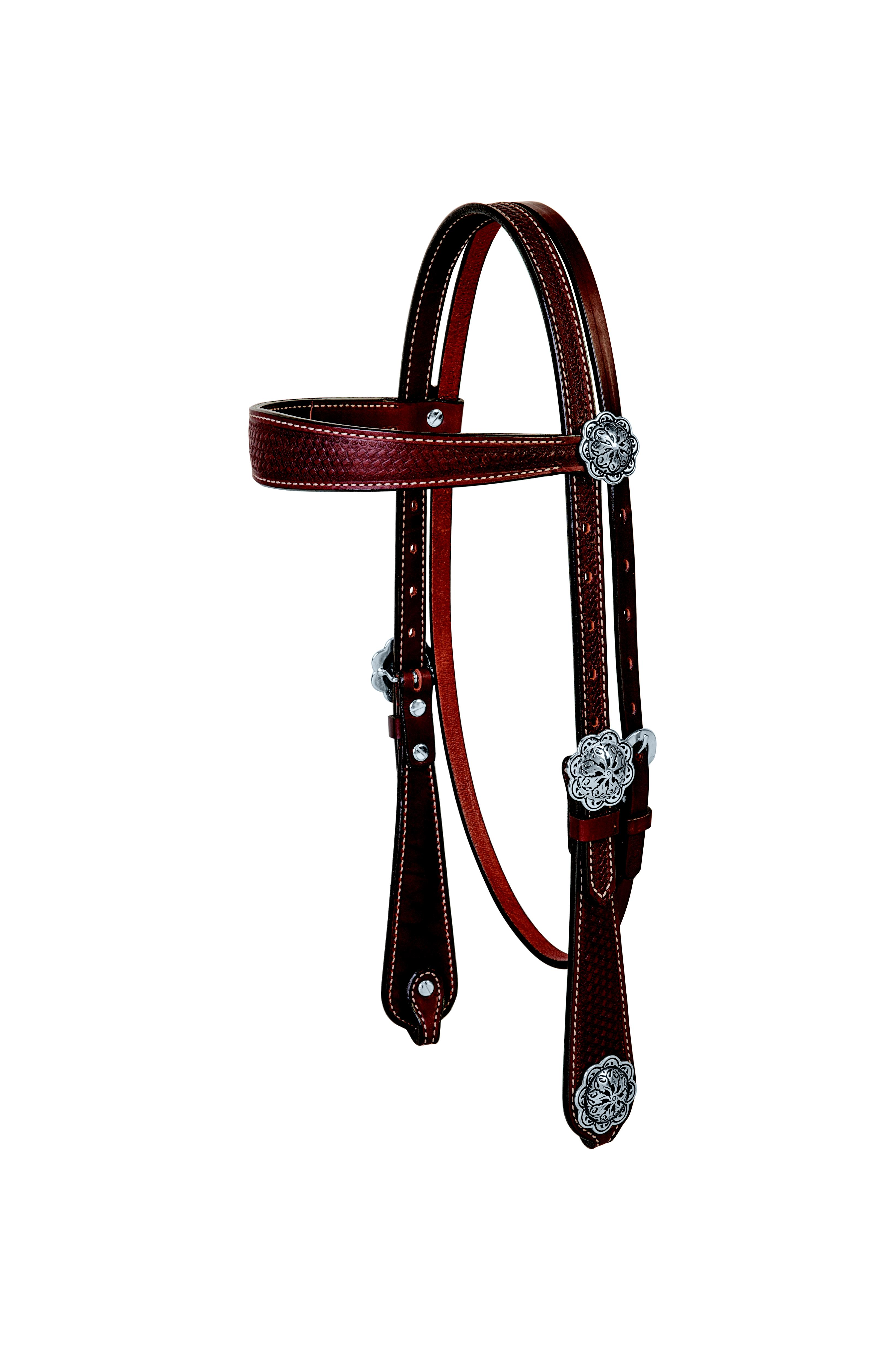 Weaver Basin Cowboy Browband Headstall