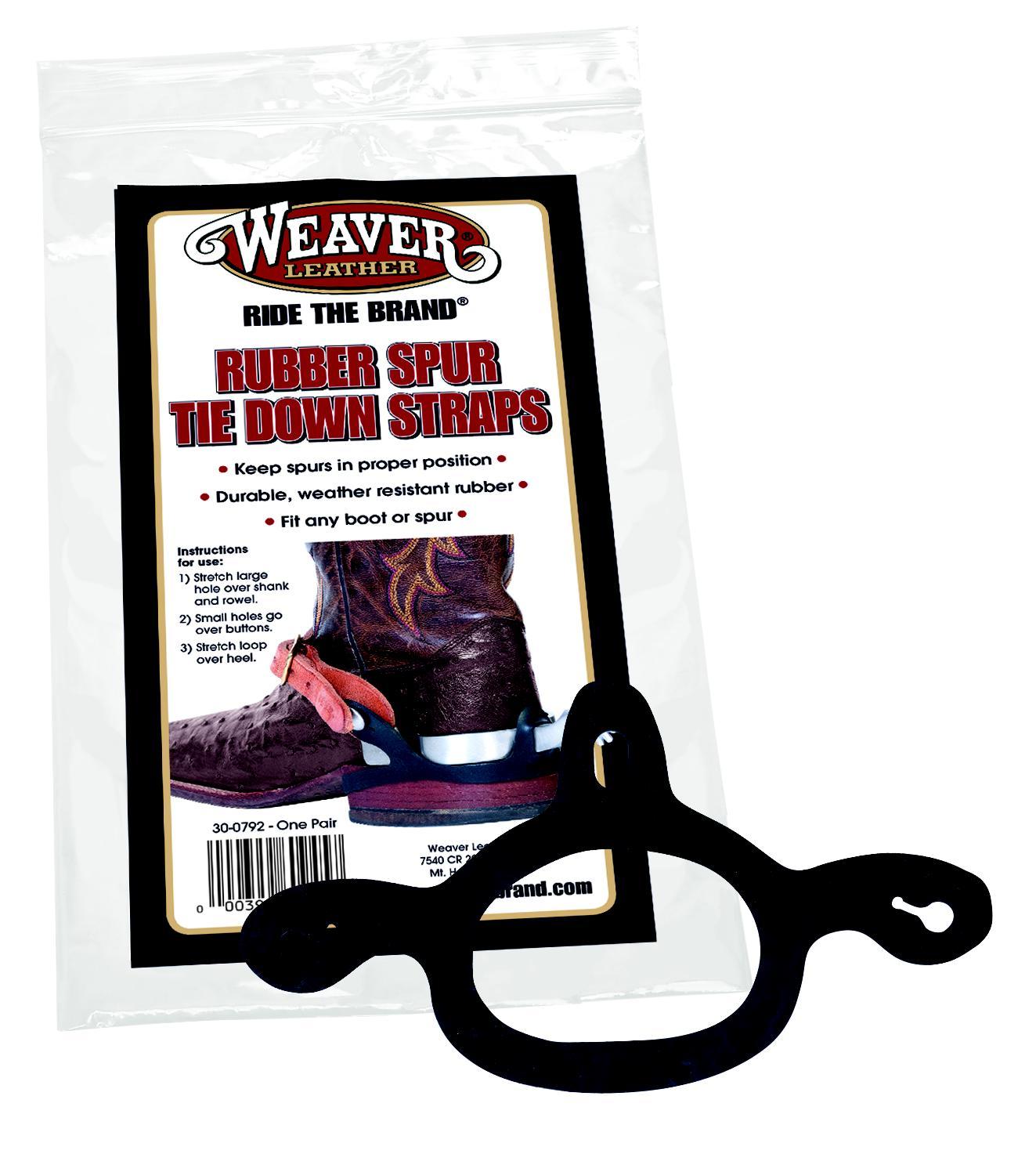 Weaver Rubber Spur Tie Down Straps