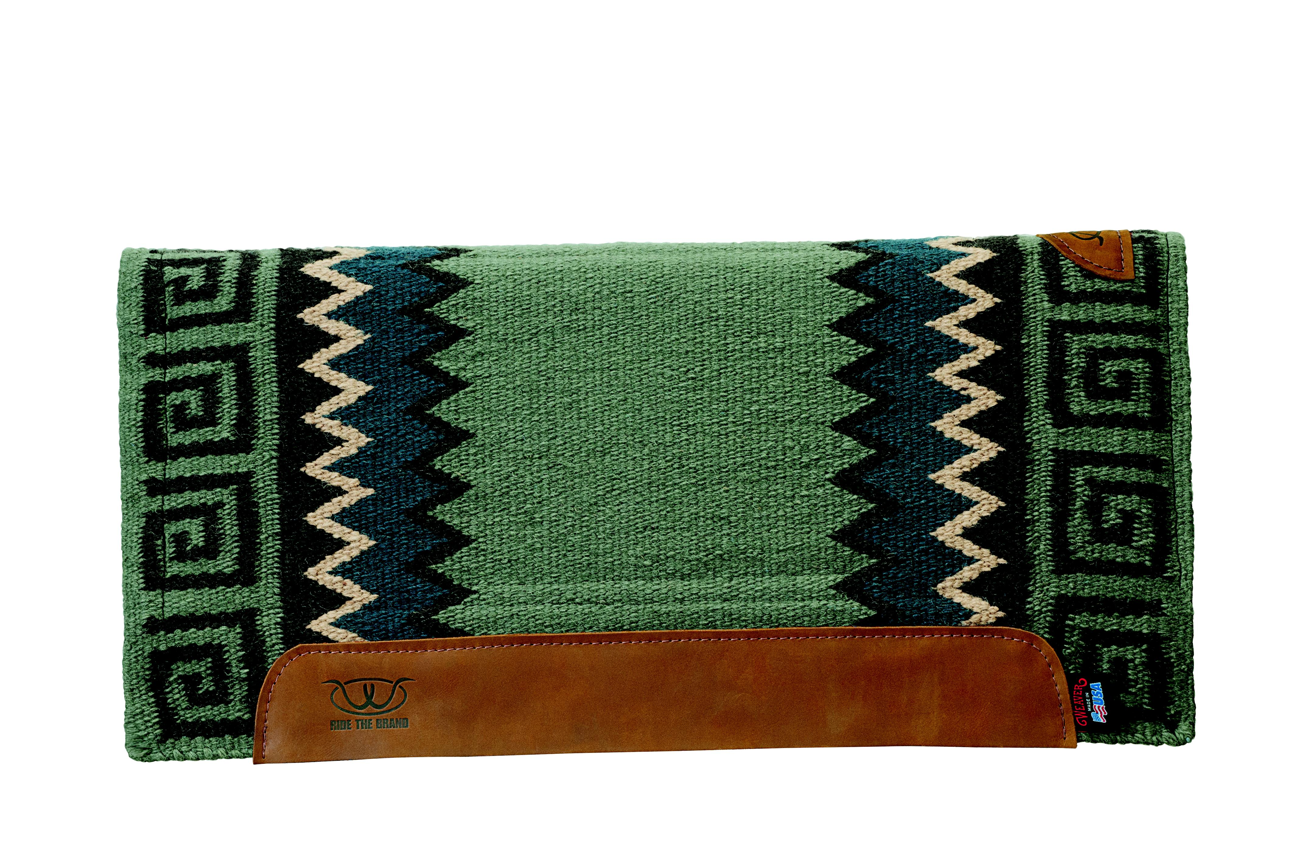 Weaver Woven Top Memory Foam Saddle Pad