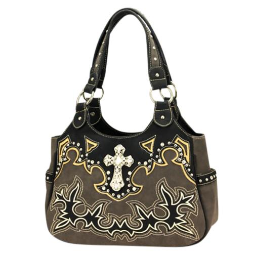 Montana West Spiritual Collection Double Strap Handbag