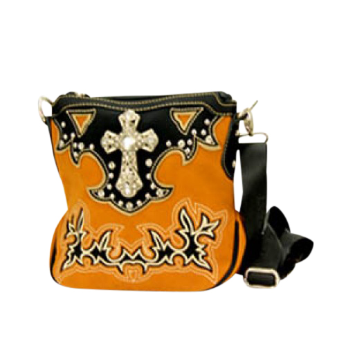 Montana West Spritual Collection Messenger Bag with Crossbody Strap