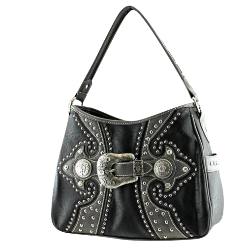 Montana West Buckle Collection Handbag