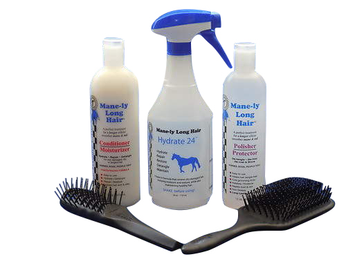MANE-LY LONG HAIR Small Grooming Kit