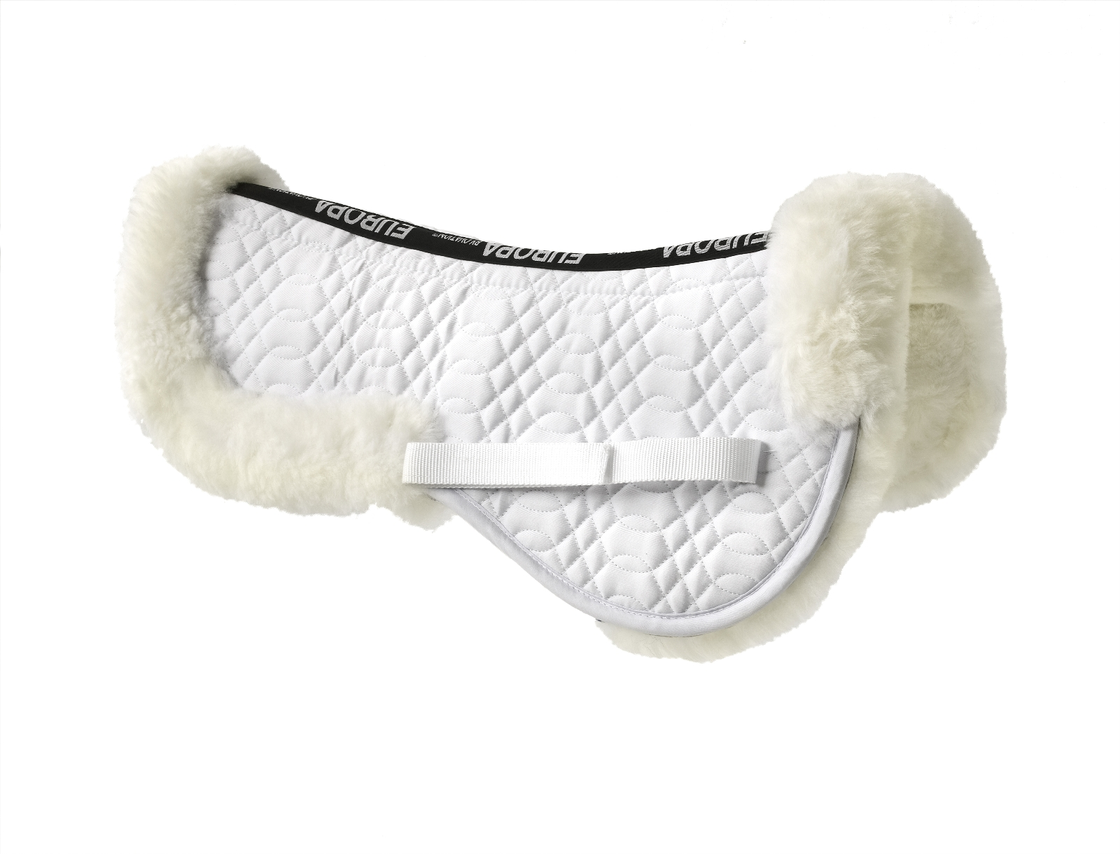 Ovation Europa Sheepskin Pony Solid Spine Half Pad
