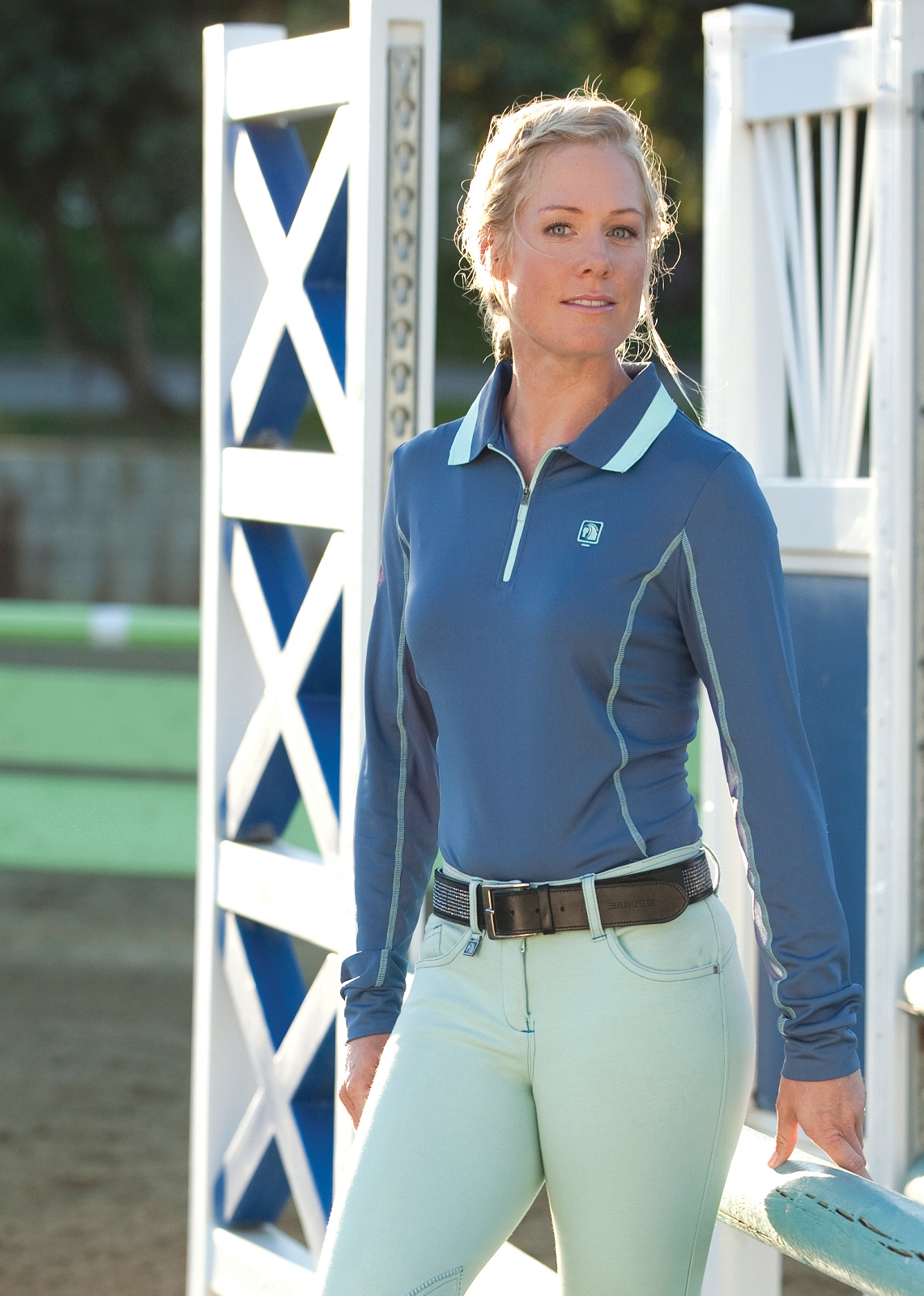 Romfh Long Sleeve Zip Polo