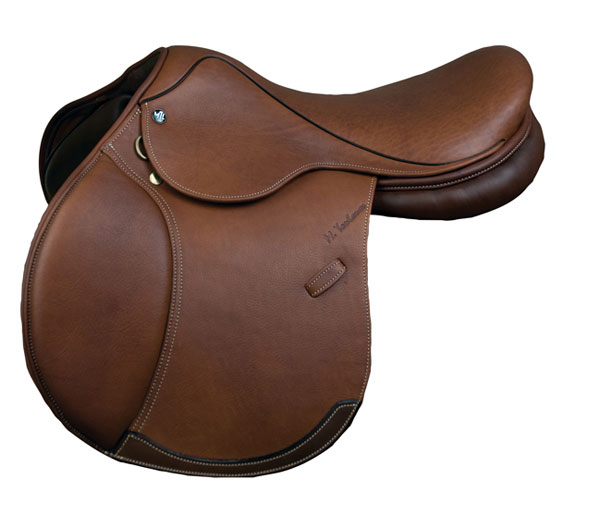 M. Toulouse Annice Double Leather Close Contact Saddle