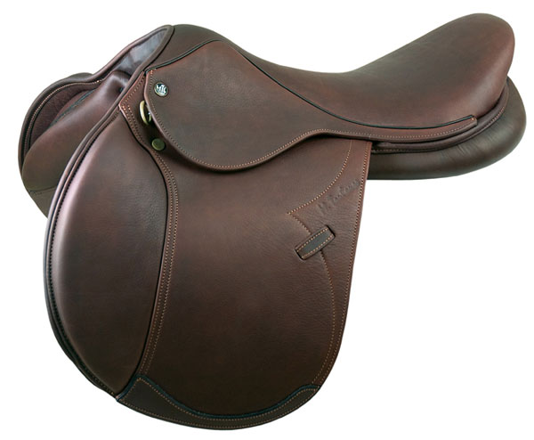 M. Toulouse Denisse Double Leather Close Contact Saddle