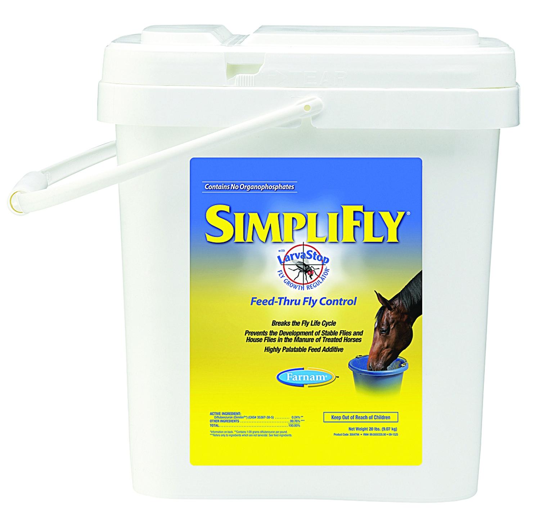 Farnam Simplifly Feed-Thru Fly Control with LarvaStop