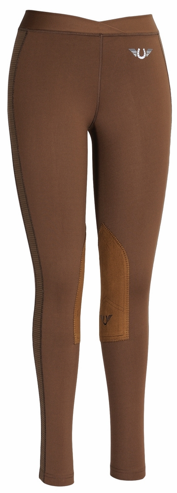 TuffRider Ventilated Schooling Tights Ladies