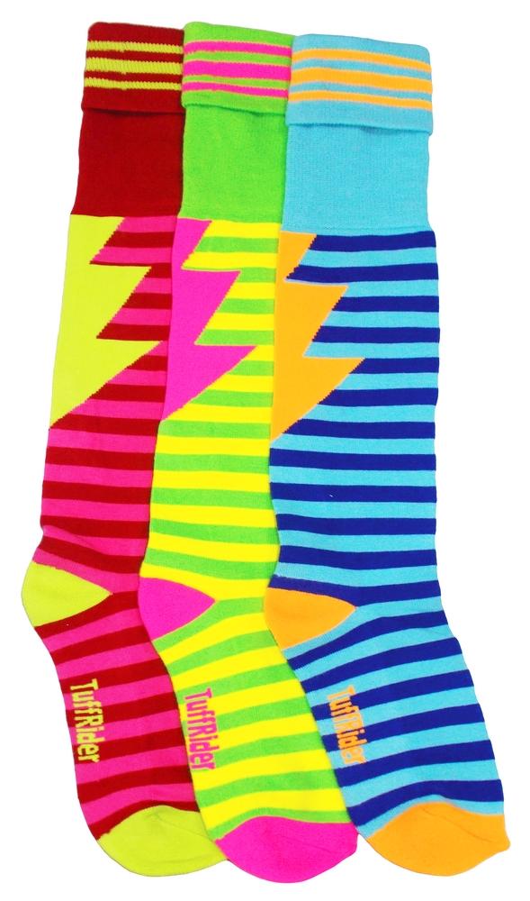 Tuffrider Electric 3 Pack Socks - Child's