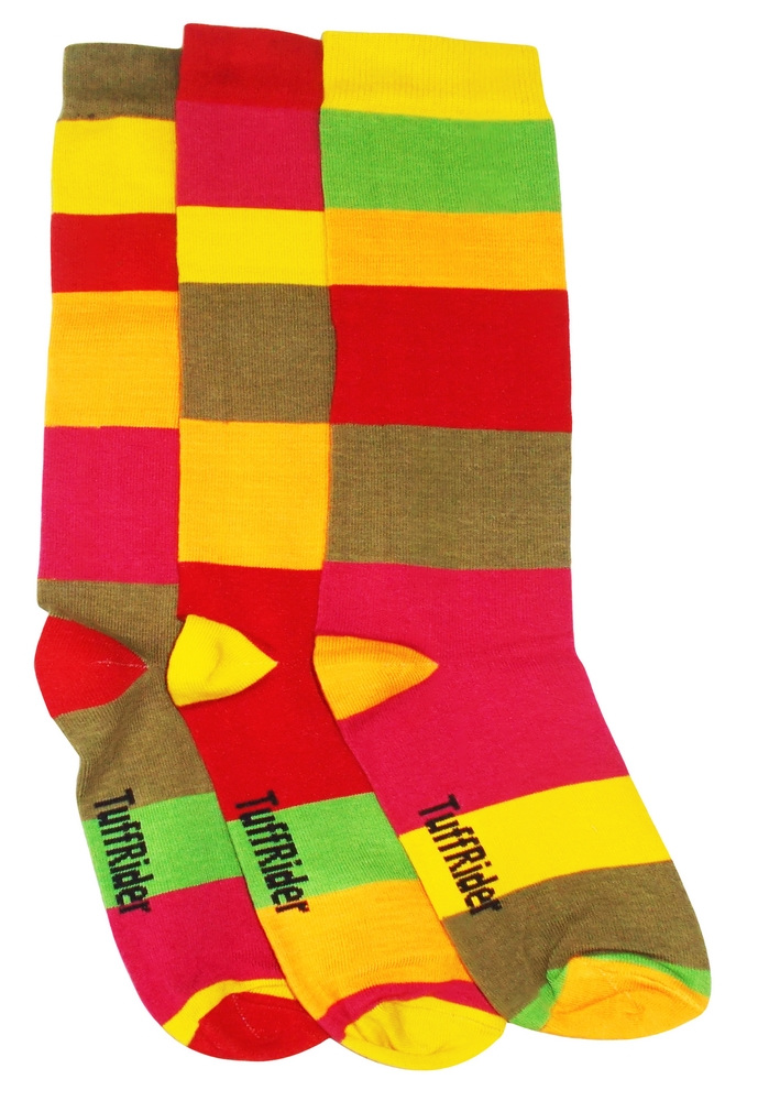 TuffRider Block Party 3 Pack Socks - Child's