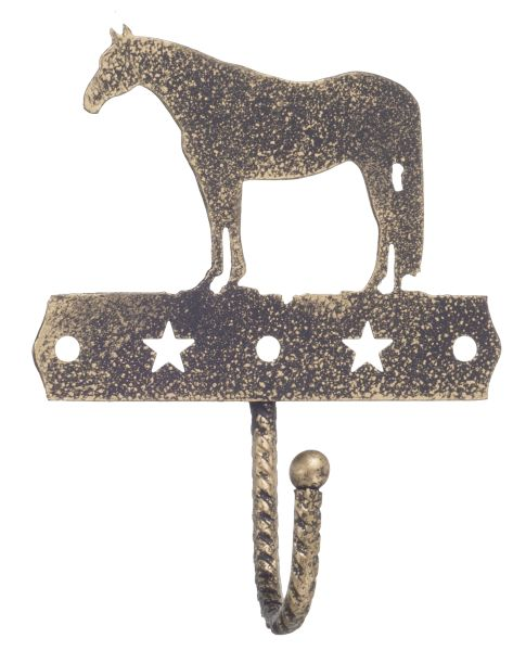 Gift Corral Single Hook - Quarter Horse