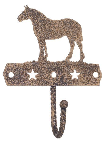 Gift Corral Single Hook - Draft Horse