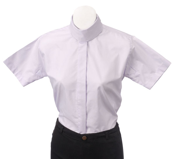 EquiRoyal Childs Short Sleeve Cotton/Poly Blouse