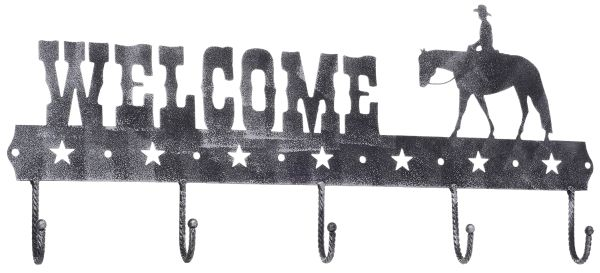 Gift Corral Welcome Sign Hook - Western Pleasure