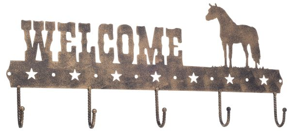 Gift Corral Welcome Sign Hook - Mini Horse