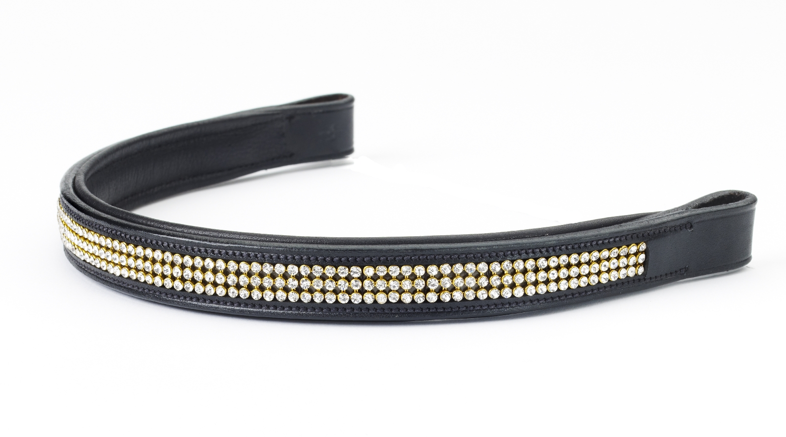 Ovation Crystal & Gold Browband