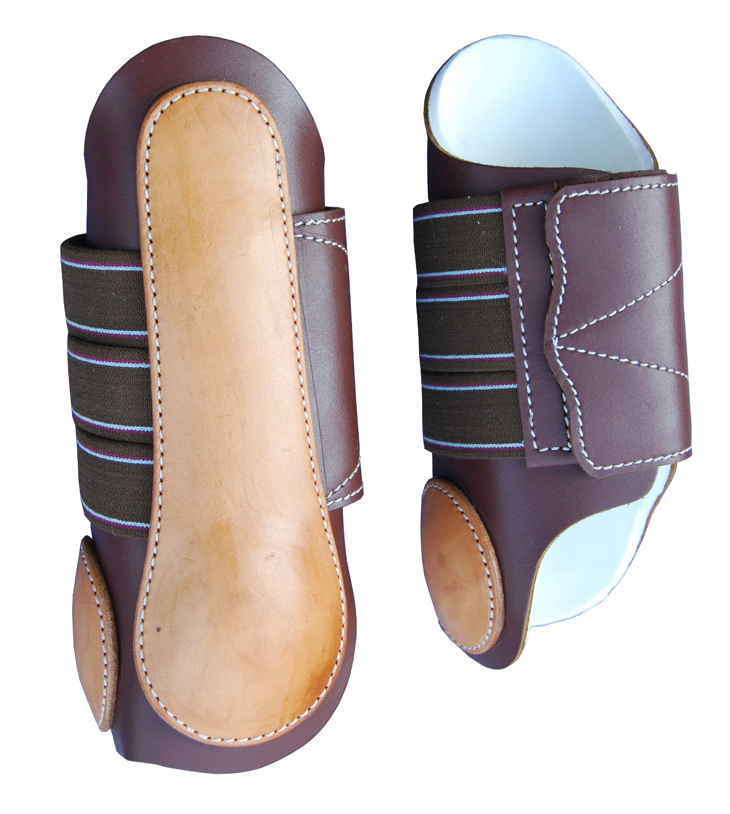 Turn-Two Equine Western Leather Splint Boot
