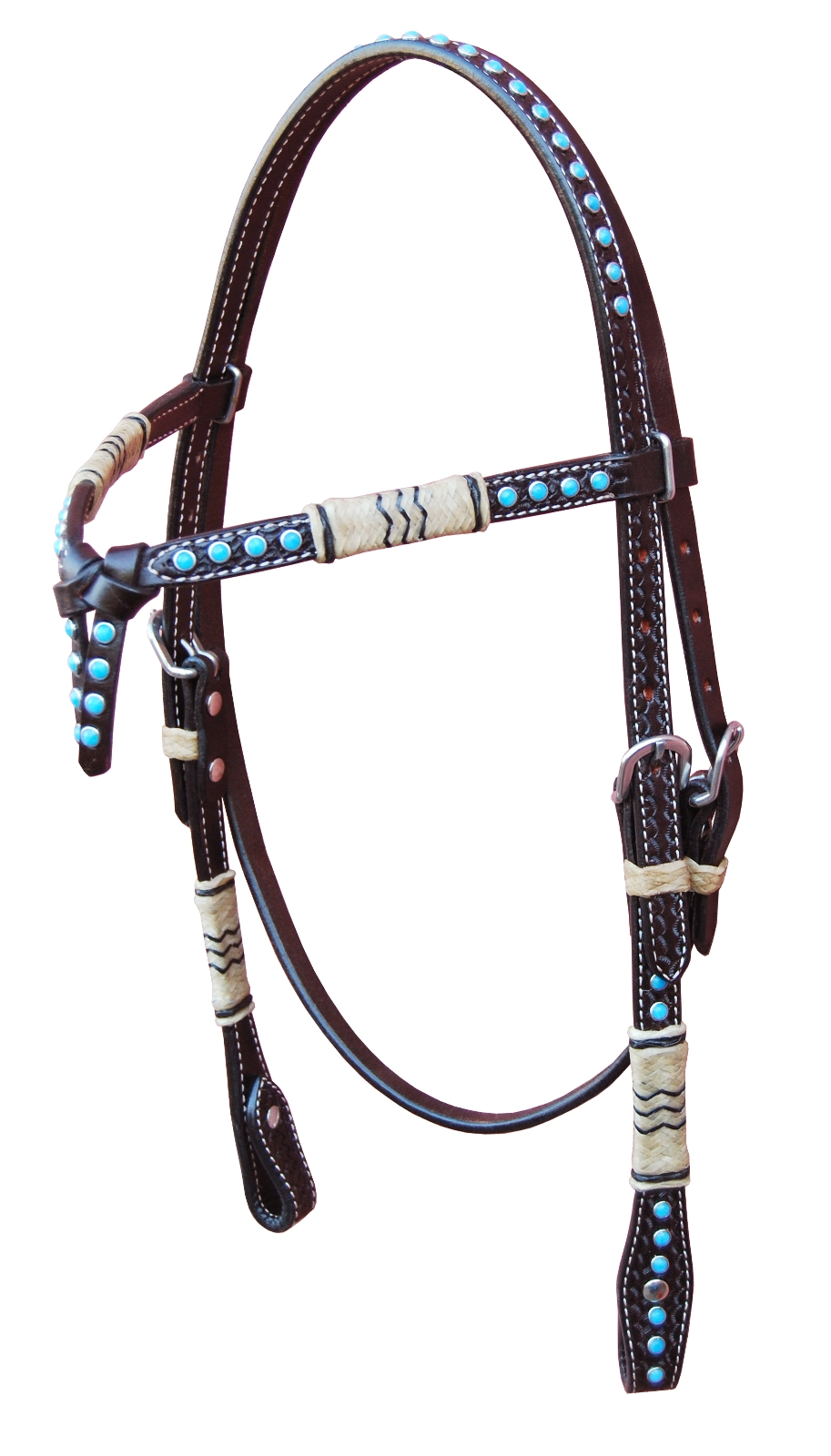 Turn-Two Equine Knotted Headstall Tucson