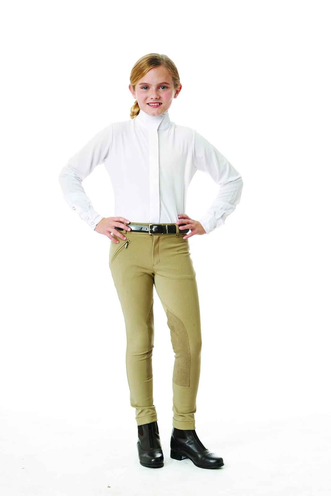 Ovation CHILD Long Sleeve Tech Show Shirt