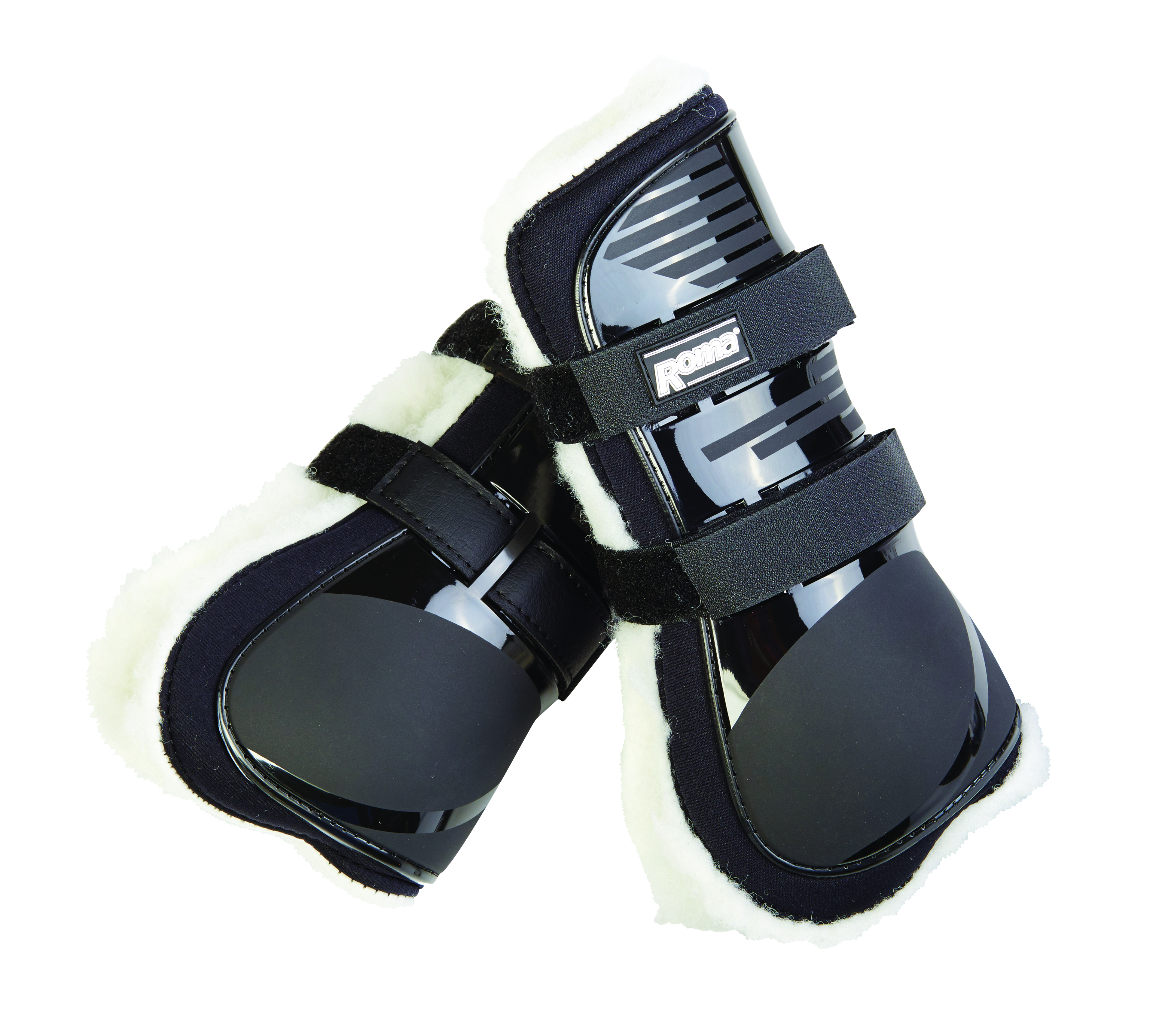 Roma Neoprene With Rubber Cap Tendon Front Boots