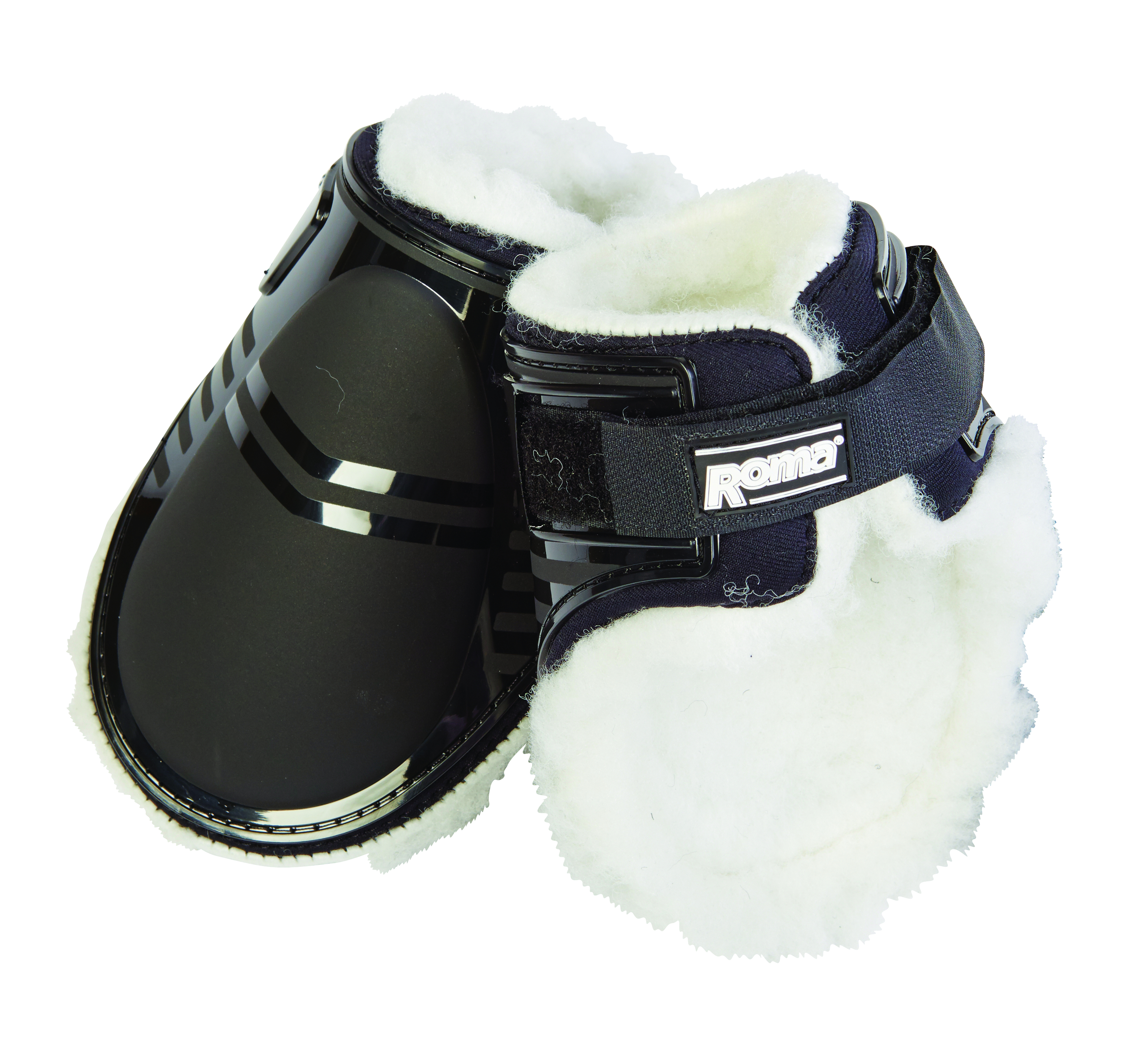 Roma Neoprene With Rubber Cap Tendon Hind Boots