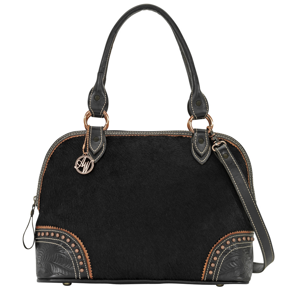 AMERICAN WEST Tulsa Twilight Zip Around Satchel