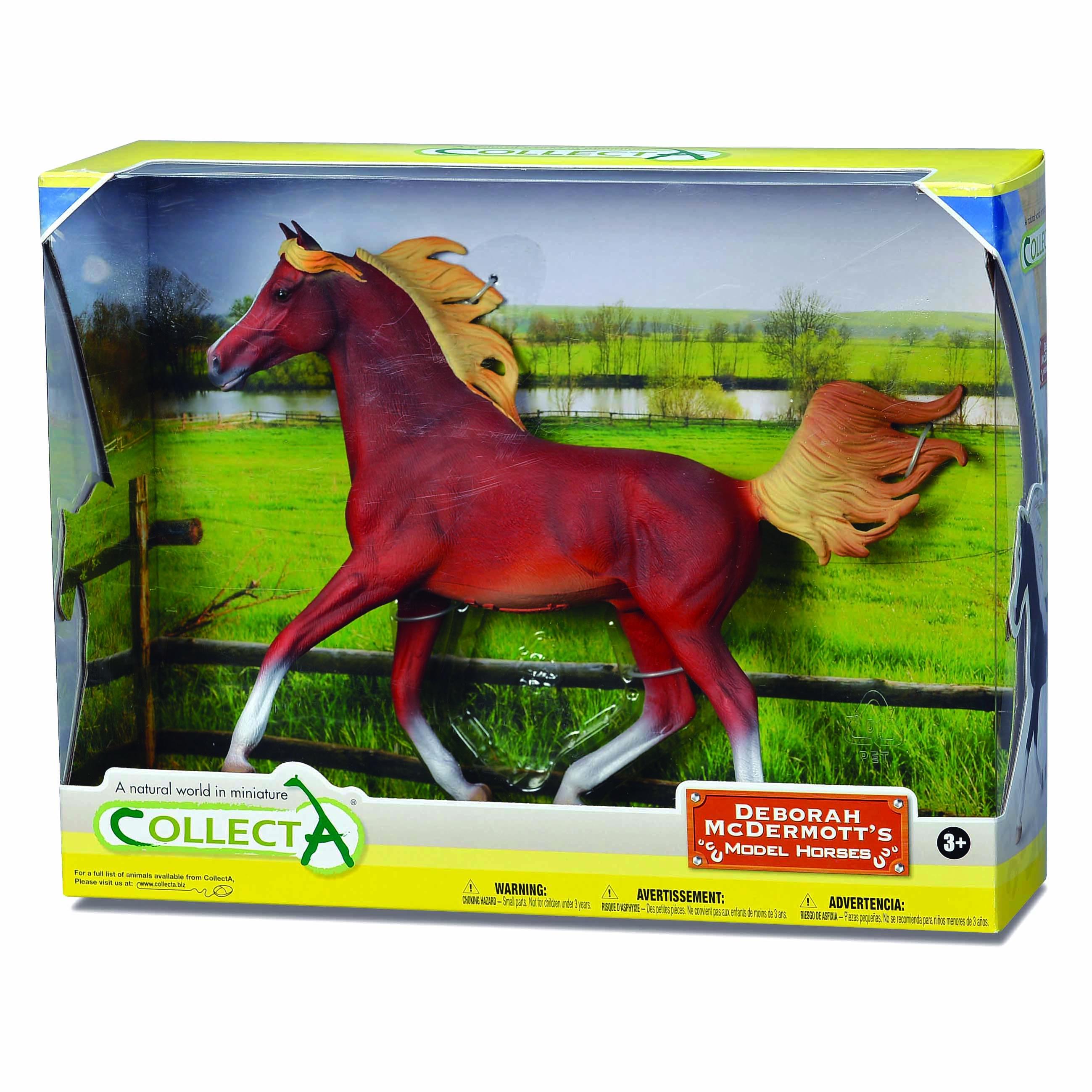 CollectA Chestnut Arabian Stallion