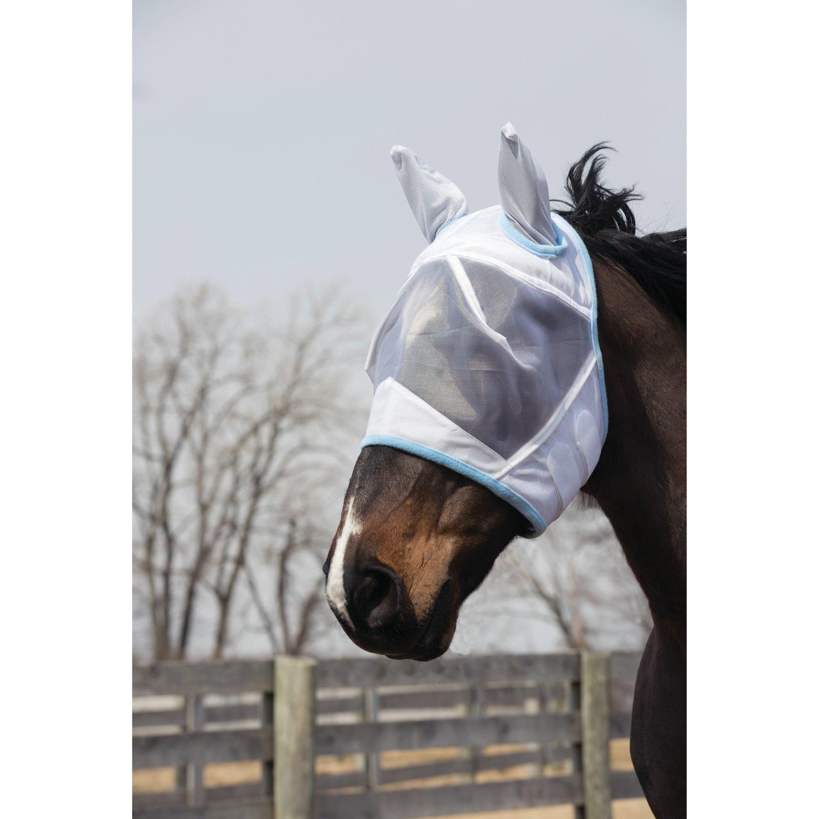 Fleece Lined Fly Mask