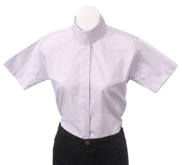 Tough-1 Ladies Cotton/Poly Short Sleeve Blouse