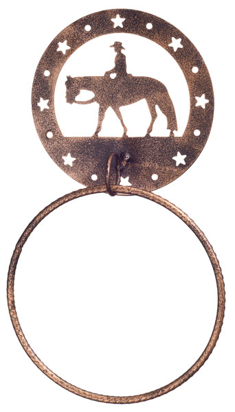 Gift Corral Towel Ring - Western Pleasure