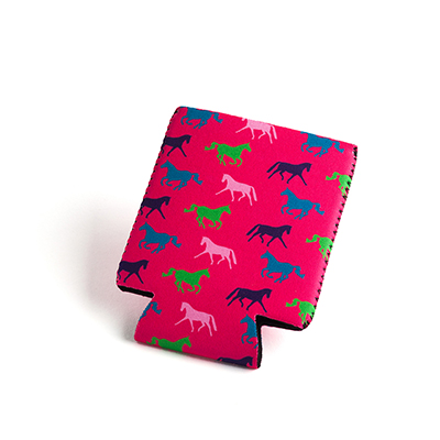 Tek Trek Neoprene Koozie with Horses