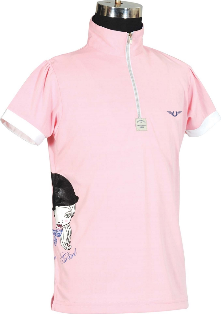 TuffRider Pony Girl Polo Shirt Child's S/S