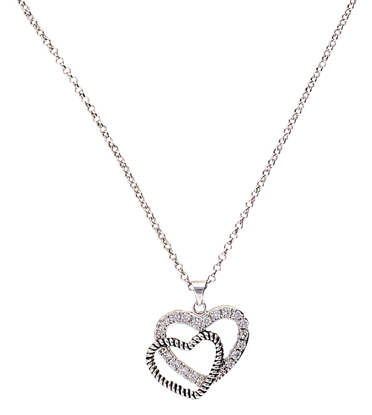 Montana Silversmiths Western Heart Reflection Necklace