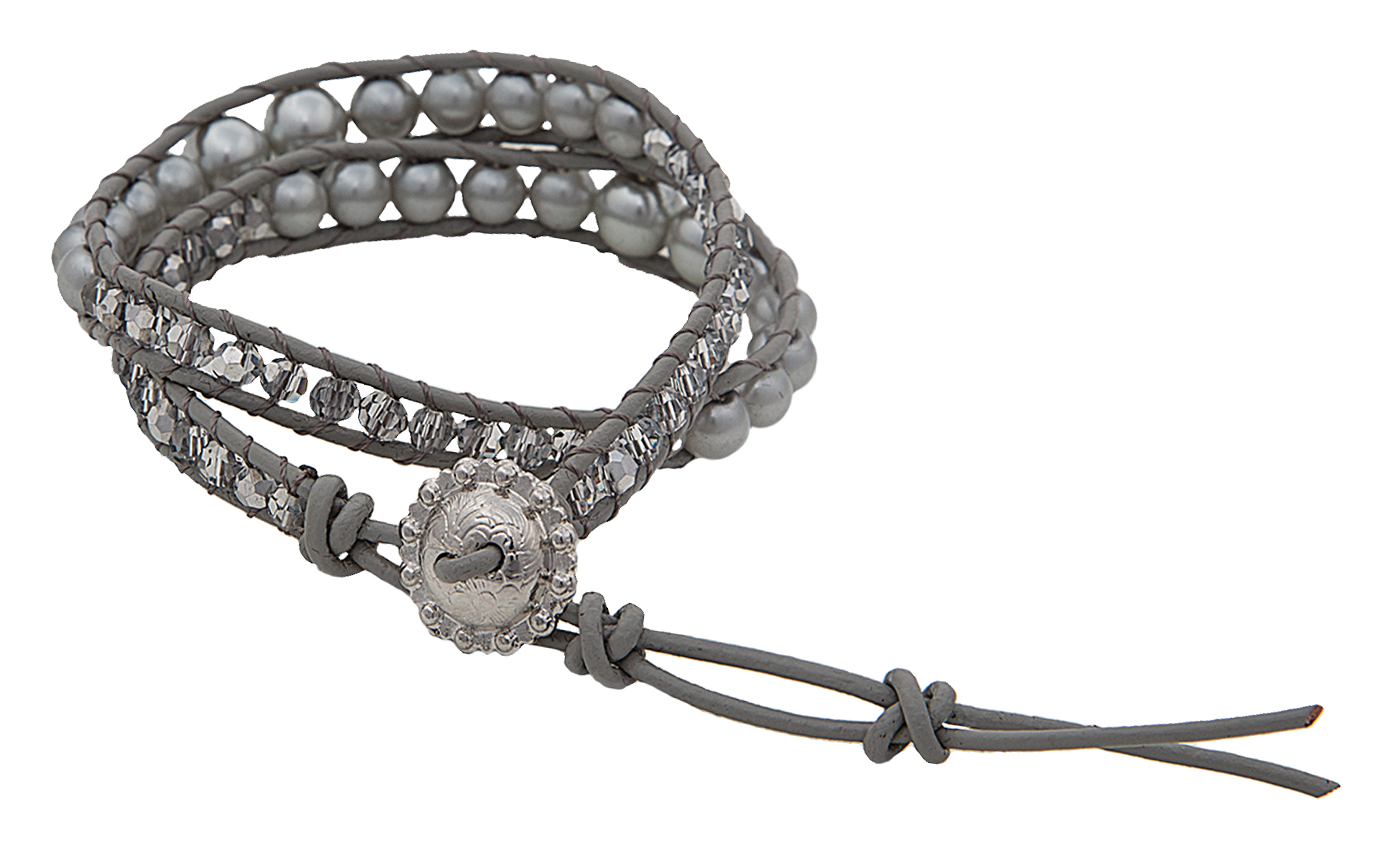 Montana Silversmiths Moonlight And Sparkle Beaded Wrap Bracelet