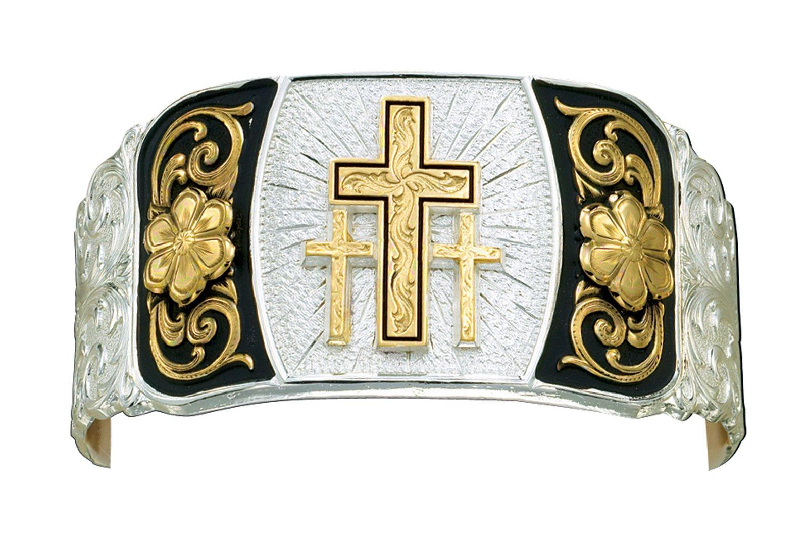 Montana Silversmiths Cross Cuff Bracelet