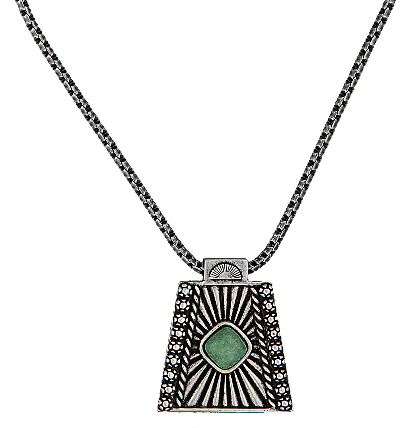 Montana Silversmiths Desert Vision Silver And Turquoise Necklace