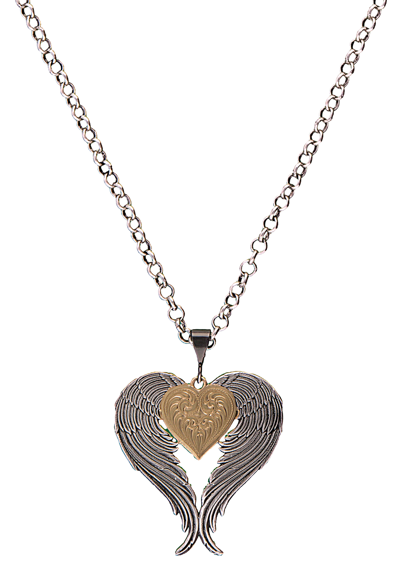 Montana Silversmiths Classics Angel Heart Necklace