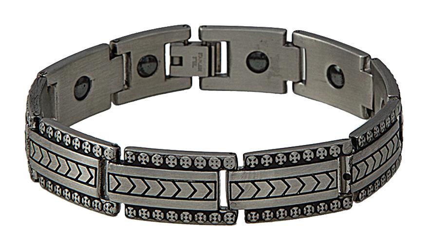 Montana Silversmiths Fletcher Style Magnetic Link Bracelet