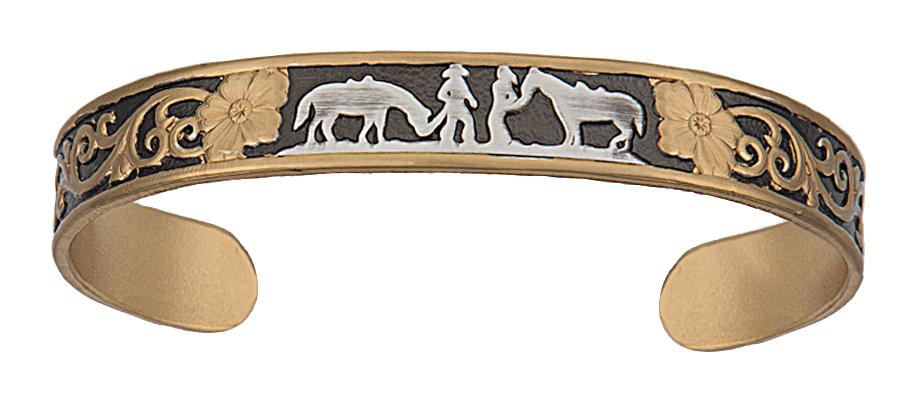Montana Silversmiths Classics Between Friends Bracelet