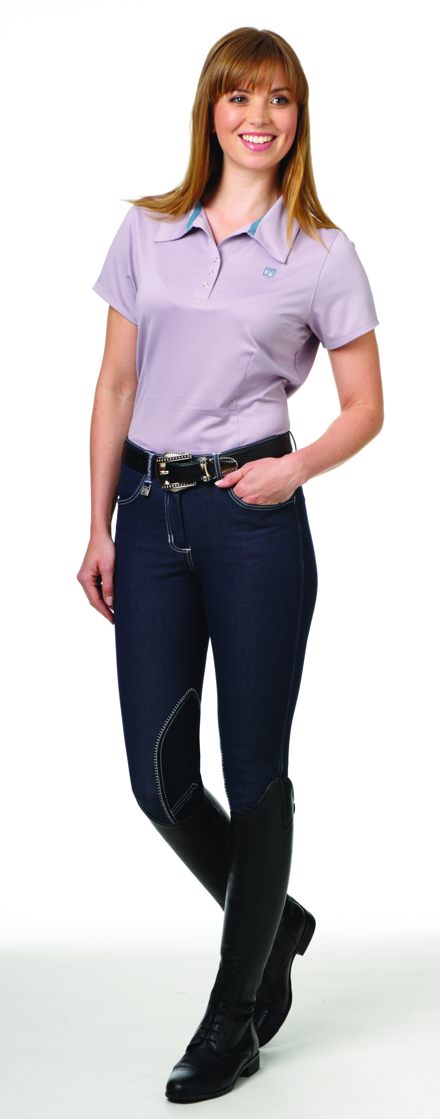 Romfh International Knee Patch Denim Breech