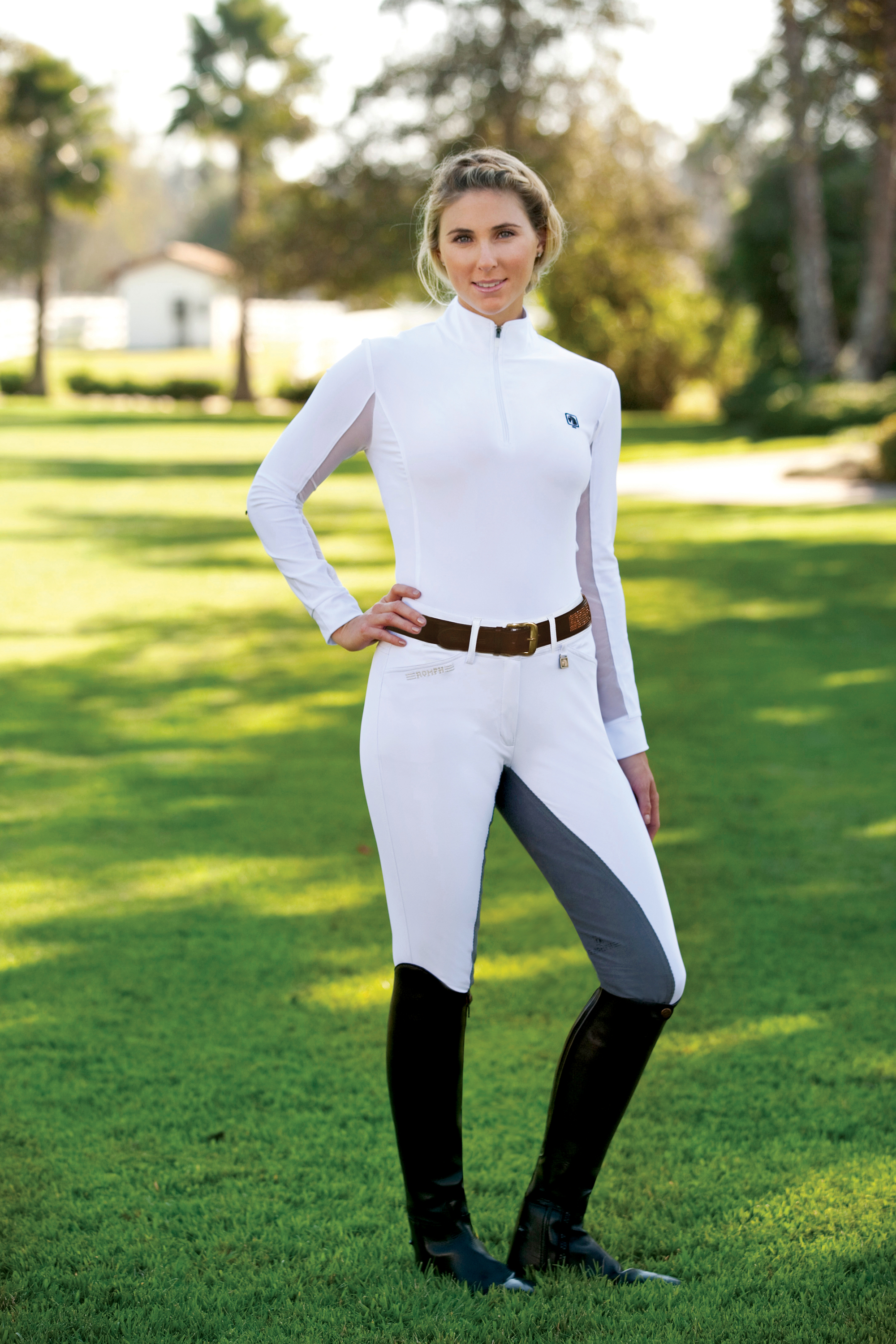 ROMFH Sarafina Ladies' Fullseat Breeches