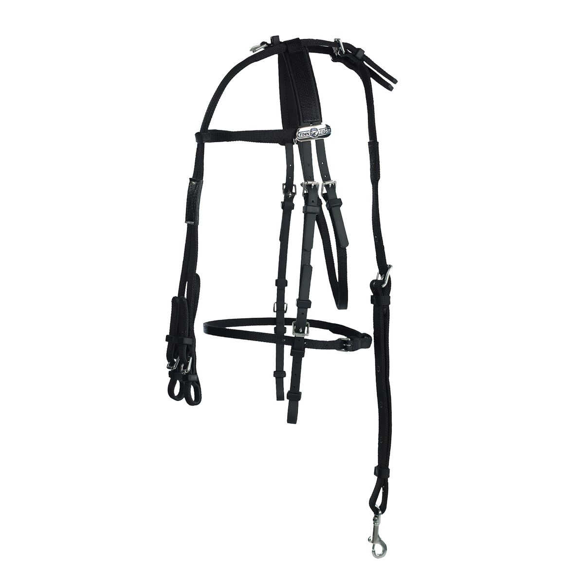 Finn Tack Pony Bridle Complete Synthetic