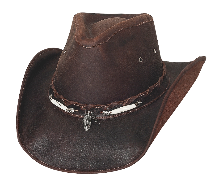 Bullhide Briscoe Down Under Collection Leather Hat