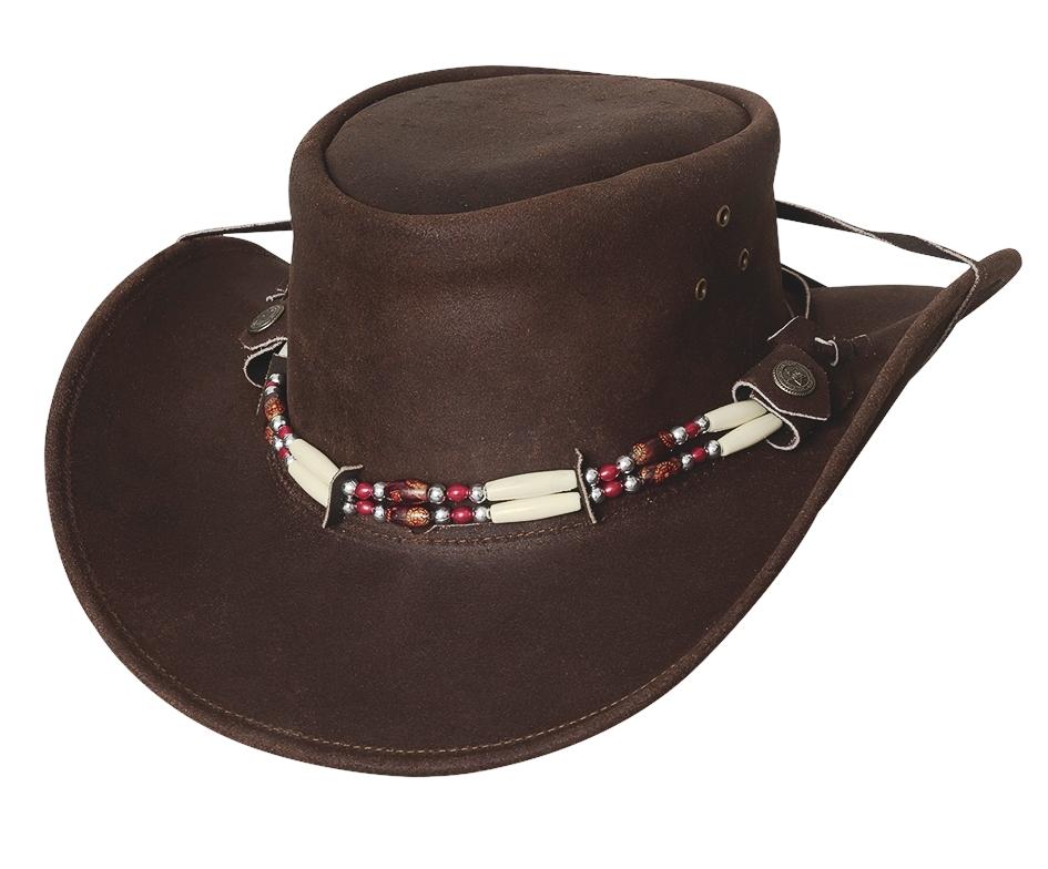 Bullhide Uplander Down Under Collection Leather Hat