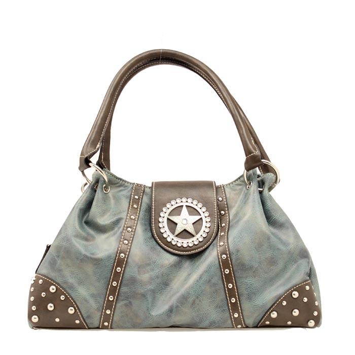 Blazin Roxx Star Concho Shoulder Bag