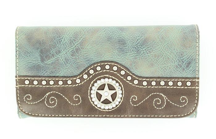 Blazin Roxx Star Concho Wallet
