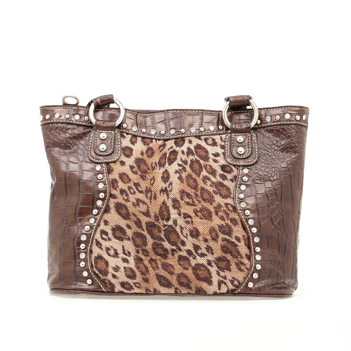 Blazin Roxx Leopard Overlay Shoulder Bag